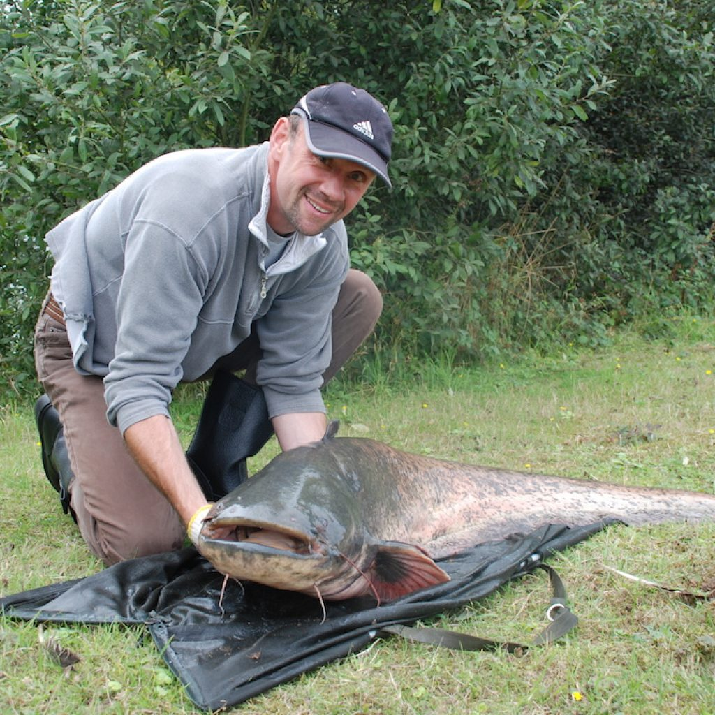 Martin with Catfish